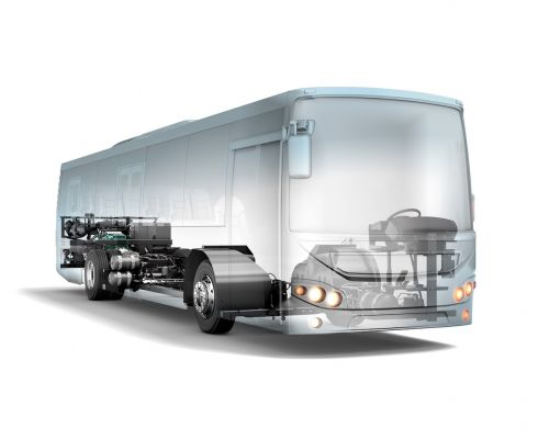 Lançamento do B8R, nova geração de ônibus urbano da Volvo