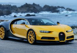 Bugatti entrega primeira unidade do Chiron nos EUA