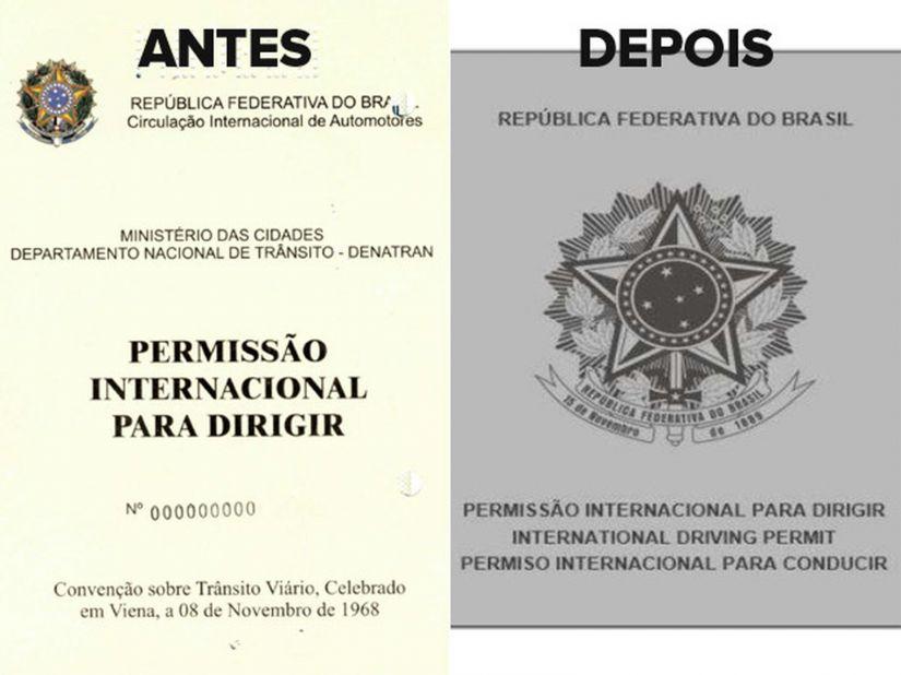 Alterado formato da Permissão Internacional para Dirigir (PID)