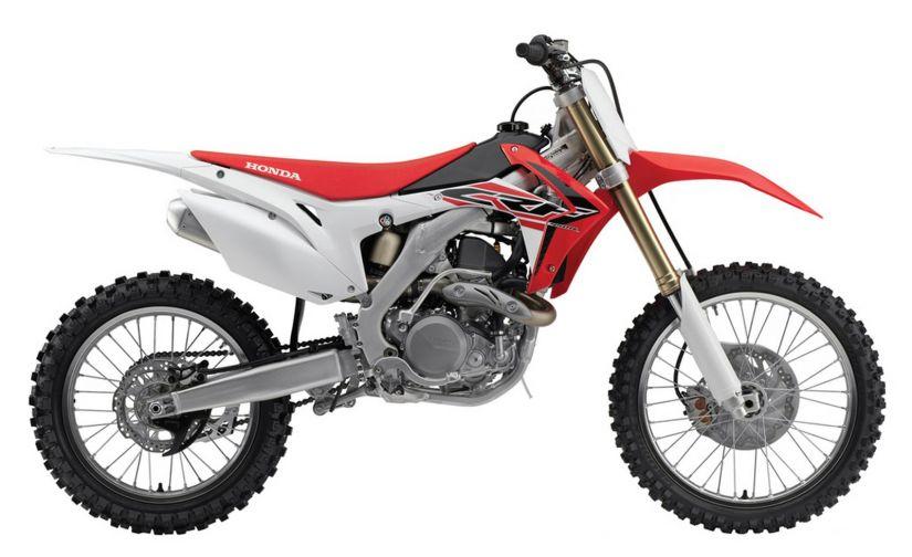 Honda divulga recall da moto modelo CRF 450R