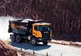 Lançamento global do caminhão Scania Heavy Tipper