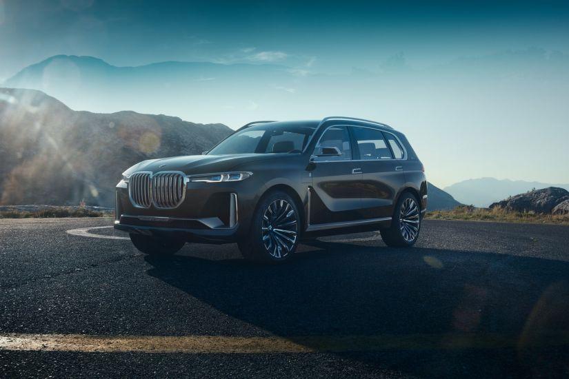 BMW apresenta novo X7 como carro conceito