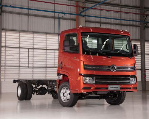 Lançamento da nova linha de caminhões leves Volkswagen Delivery