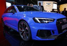 Audi mostra RS4 Avant com motor mais potente