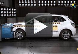 Polo e Corolla recebem nota máxima em teste de colisão