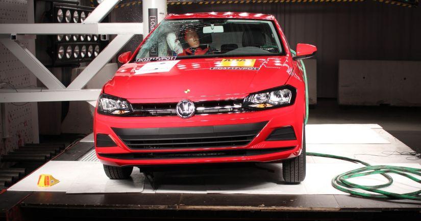 Crash Test do Volkswagen Polo