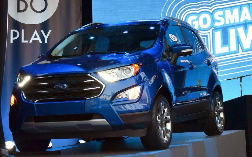 Ford anuncia aumento de preços para EcoSport