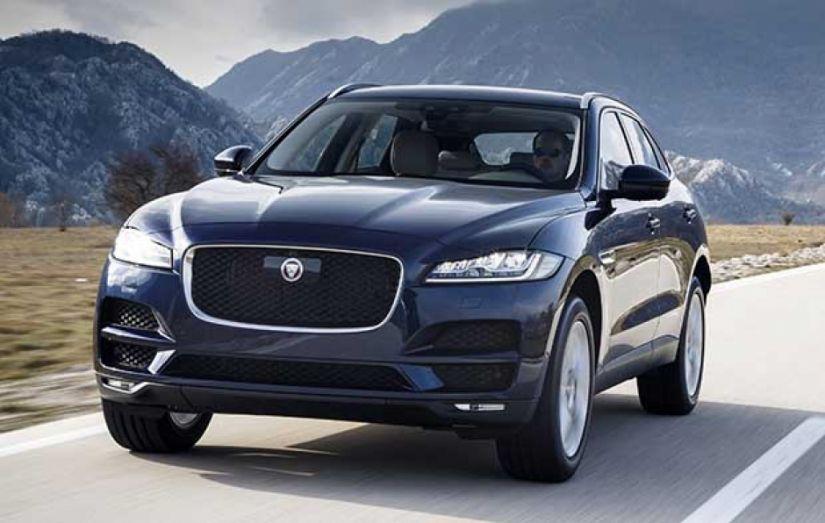 Jaguar lança F-Pace com motor 2.0 a gasolina