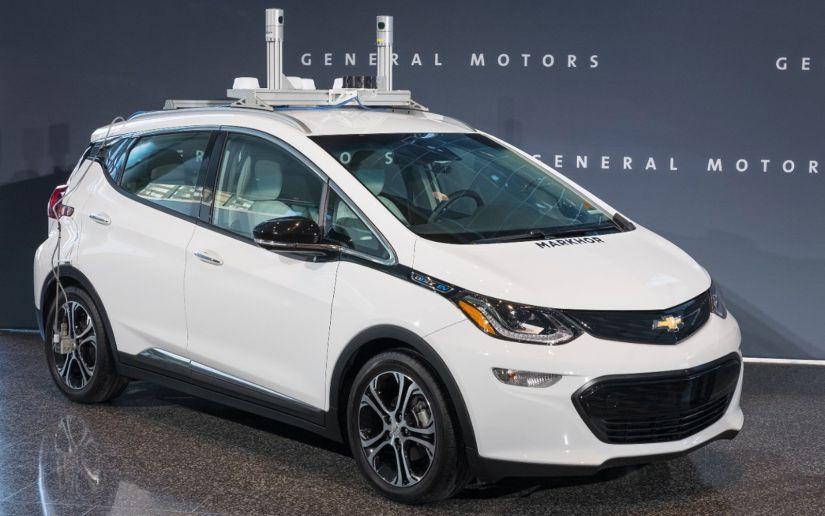GM confirma 13 acidentes com carros autônomos