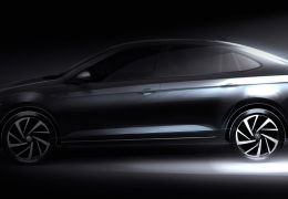 Volkswagen divulga novas imagens do sedã Virtus