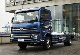 Caminhão elétrico nacional é apresentado na Alemanha