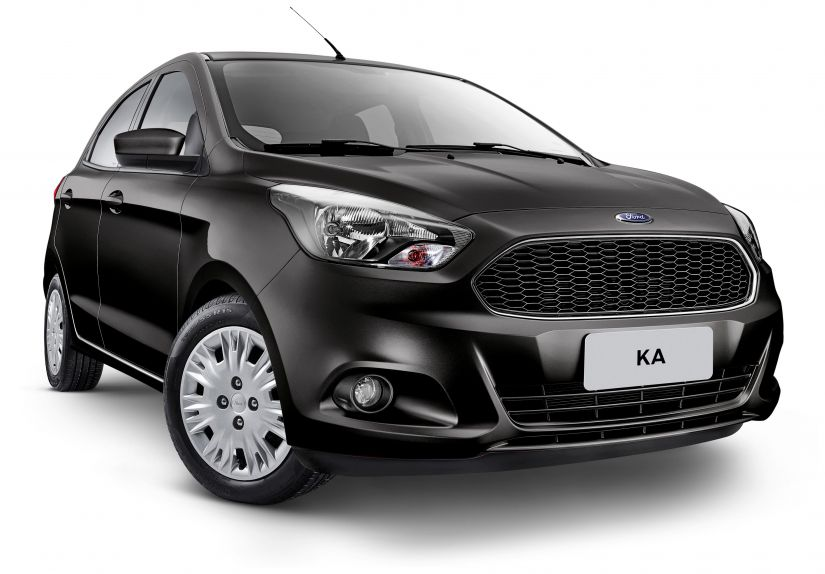 Ford lança nova versão de entrada do Ka