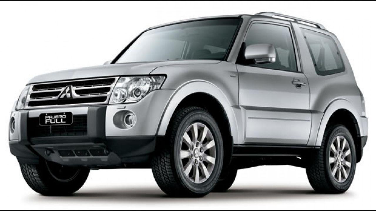 Mitsubishi Pajero Full se envolve em recall por defeito em airbag