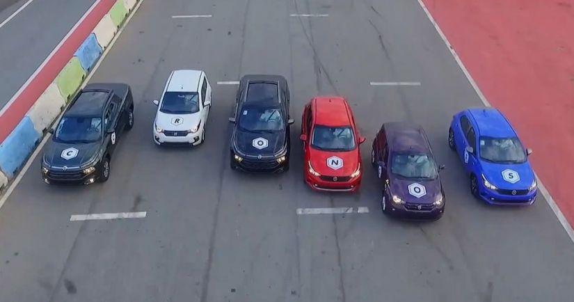 Fiat revela o nome da versão sedã do Argo: Cronos