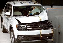 Instituto americano quer começar a testar impacto de batida no lado do passageiro