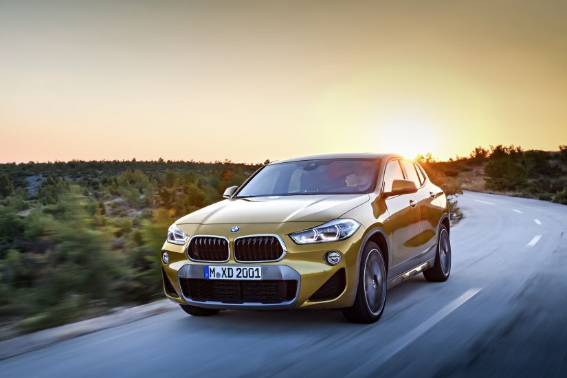 BMW apresenta crossover X2 com lançamento na Europa previsto para 2018
