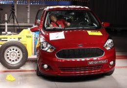 Ford Ka recebe nota zero em teste de colisão promovido pela Latin NCap