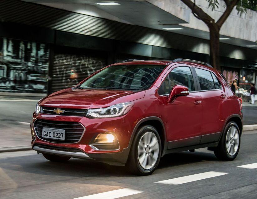 Chevrolet confirma Tracker com controles de tração e estabilidade