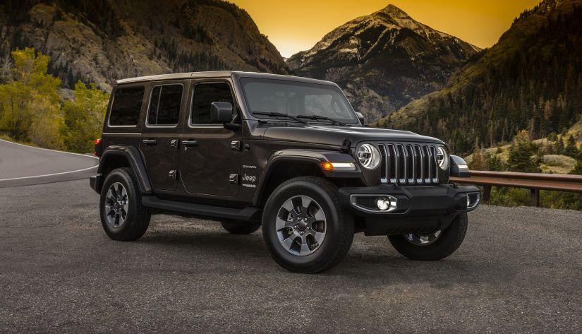 Jeep divulga imagens oficiais da nova geração do modelo Wrangler