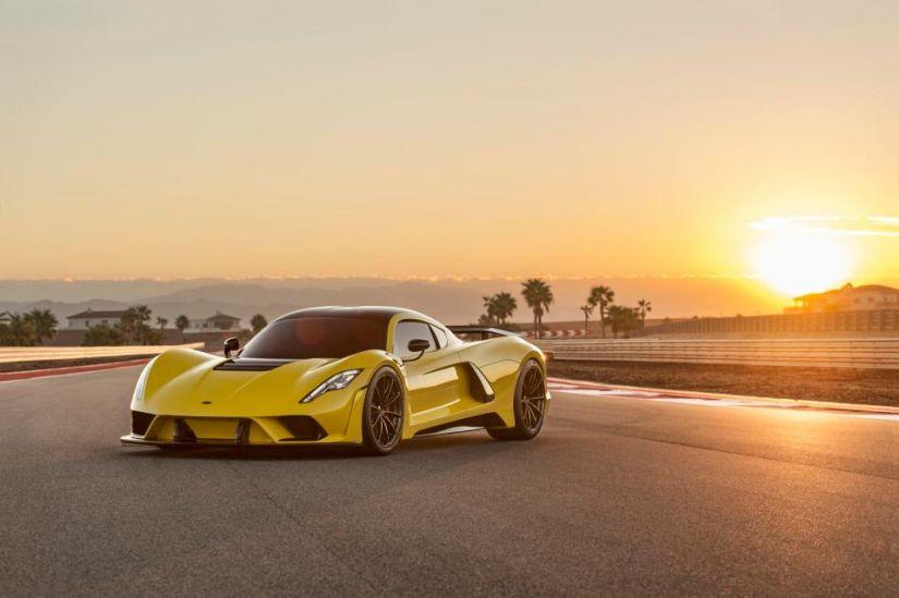 Novo carro da Hennessey quer chegar na marca dos 480 km/h