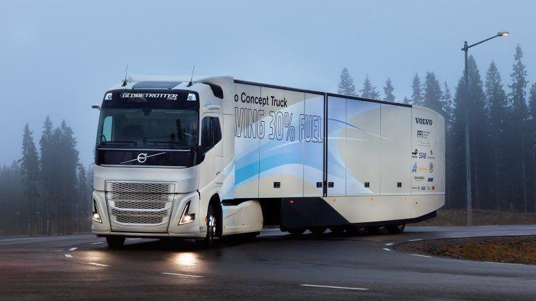 Frenagem automática de caminhão da Volvo evita tragédia