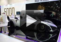 Conheça o carro de 5 mil cavalos apresentado em Dubai