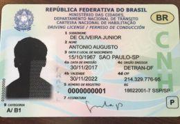 Carteira Nacional de Habilitação vai virar cartão com chip