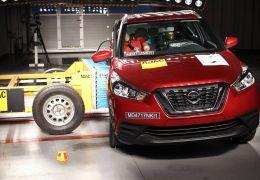 Nissan Kicks consegue 4 estrelas em teste de colisão do Latin NCap
