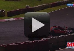 Prova de Kart termina em pancadaria entre pilotos