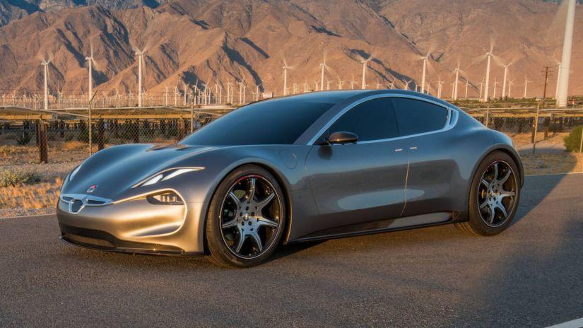 Fisker apresenta modelo de carro elétrico que deverá competir com Tesla