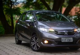 Teste do Honda Fit EXL 2018
