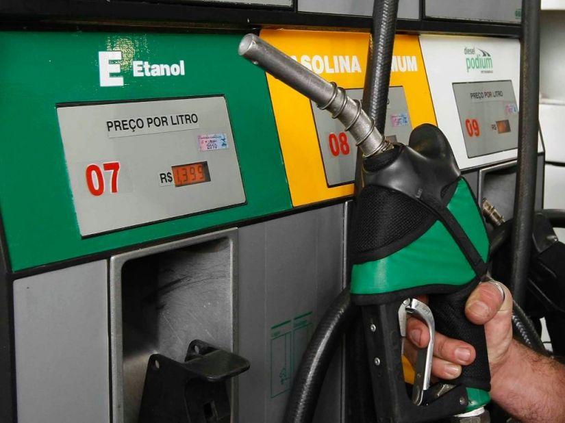 Preço médio da gasolina segue subindo em 2018