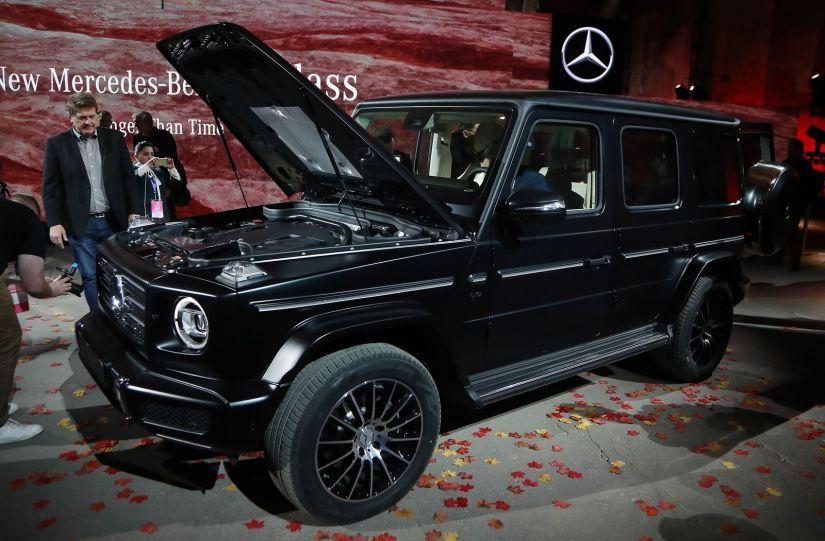 Novo Classe G é apresentado pela Mercedes-Benz
