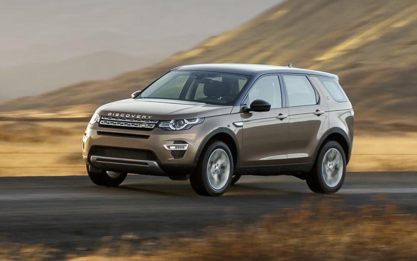 Land Rover convoca Discovery Sport para recall