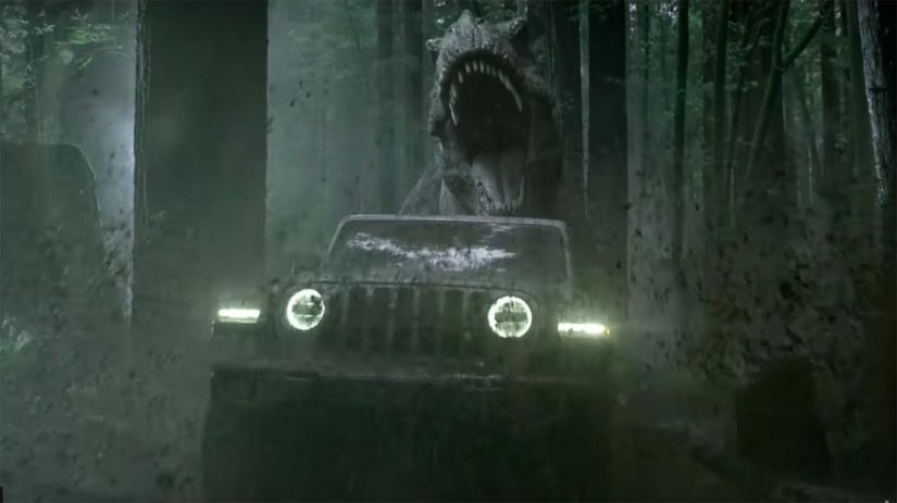 Jeep ironiza rivais e recria Jurassic Park em comerciais do Super Bowl