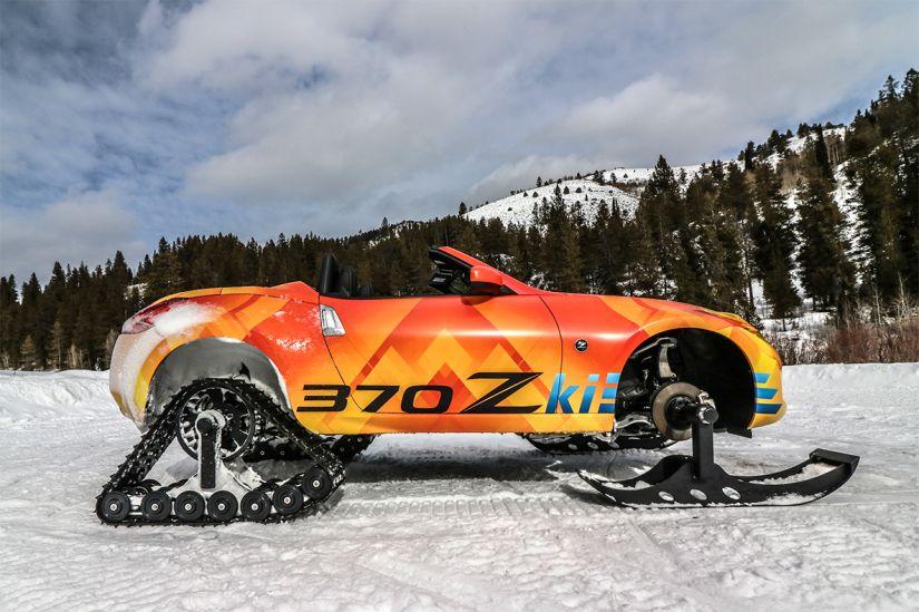 Nissan apresenta transformação incrível para esportivo 370Z