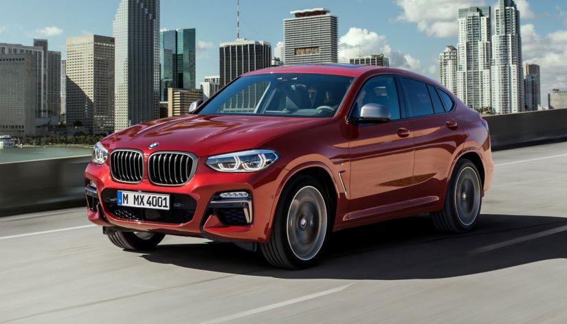 BMW apresenta 2ª geração do SUV X4