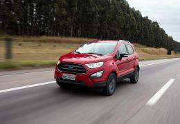 Ford anuncia redução de airbags nas versões mais baratas do EcoSport 2019