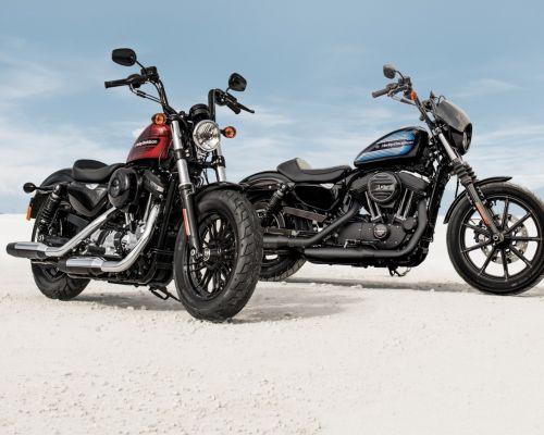 Harley apresenta as novas Iron 1200 e Forty-Eight Special