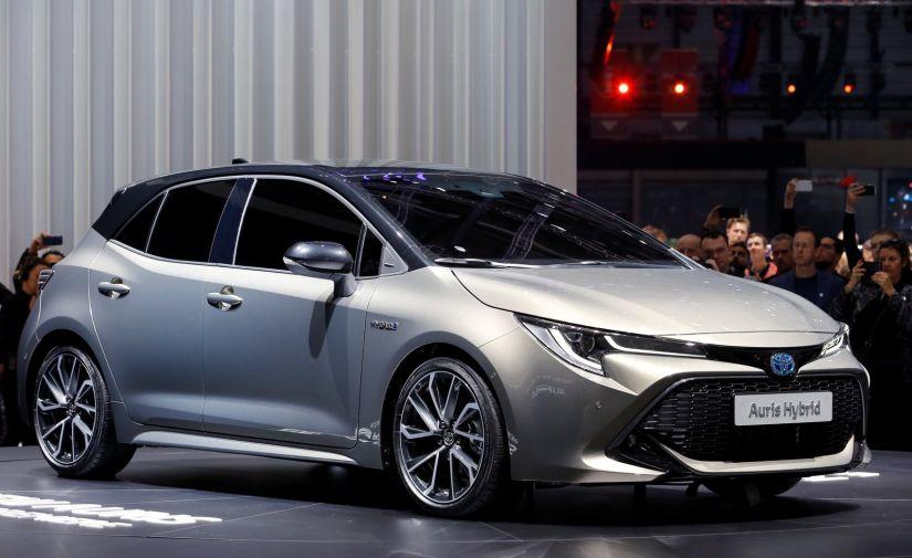 Toyota apresenta nova geração do Corolla hatch