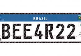 Novas placas começam a valer a partir de 1º setembro no Brasil