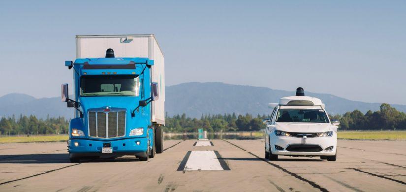 Caminhões autônomos serão utilizados para transporte de carga do Google