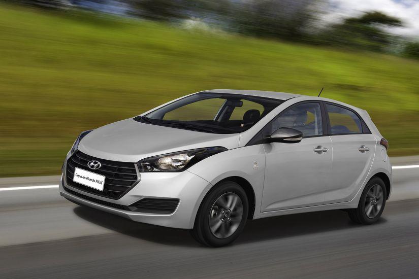 Hyundai anuncia edições especiais do HB20 para Copa do Mundo