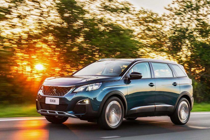 Peugeot lança 5008 com sete lugares no Brasil