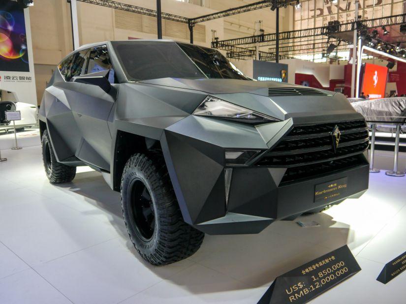 Ford anuncia lançamento de SUV mais caro do mundo