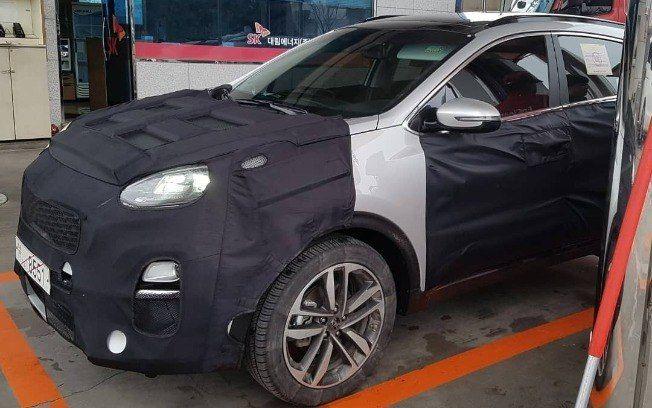 Novo Kia Sportage é flagrado antes da estreia