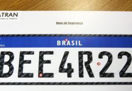Governo anuncia suspensão da implantação de placas do Mercosul