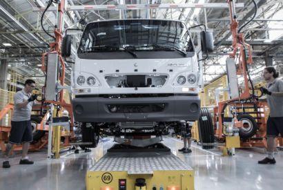 Modernização da fábrica da Mercedes-Benz em São Bernardo