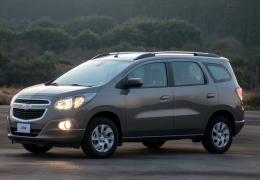 Chevrolet confirma lançamento da nova Spin até Julho
