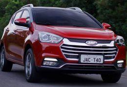 Jac anuncia T40 com câmbio automático e motor mais potente